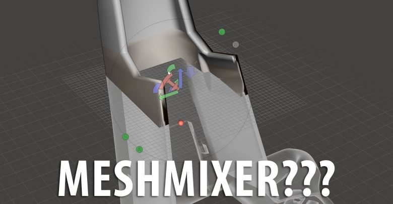 Meshmixer Is Not Scary / How To Use Plane Cut To Slice Large