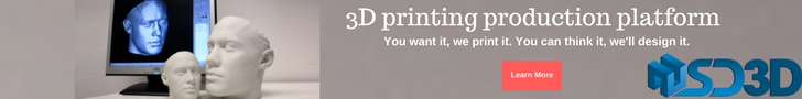 Commercial 3D printing service